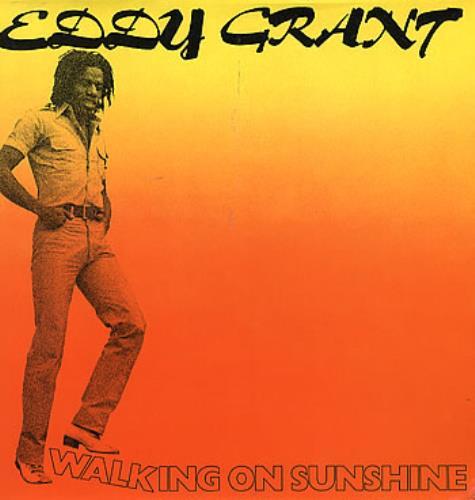 Eddy Grant Walking On Sunshine 1979 UK vinyl LP ICELP5001