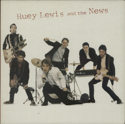 Huey Lewis & The News Huey Lewis And The News 1980 UK vinyl LP CHR1292