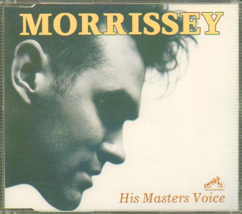 Image of Morrissey His Masters Voice 1988 UK CD single VHPRO1