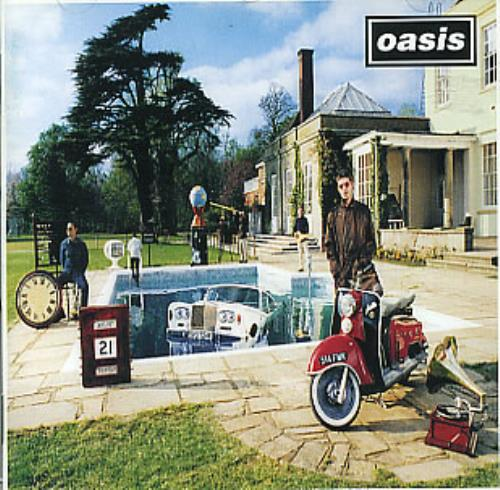Oasis Be Here Now 1997 Austrian CD album 4881872
