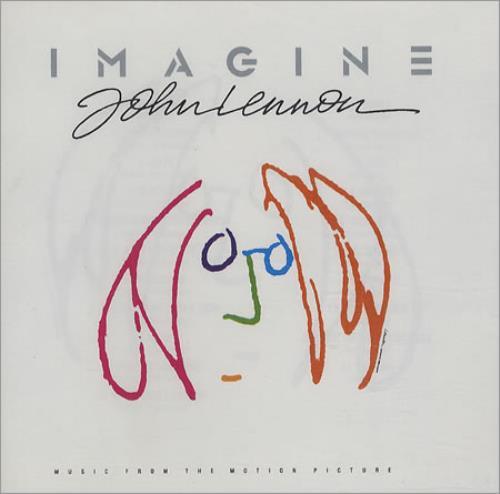 John Lennon Imagine  John Lennon 1988 Italian CD album CDP7908032