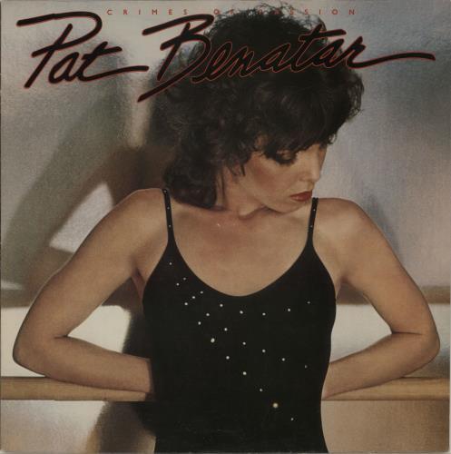 Image of Pat Benatar Crimes Of Passion 1980 UK vinyl LP CHR1275