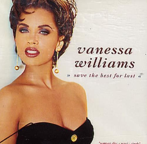 Vanessa Williams Save The Best For Last 1991 USA CD single 8651372