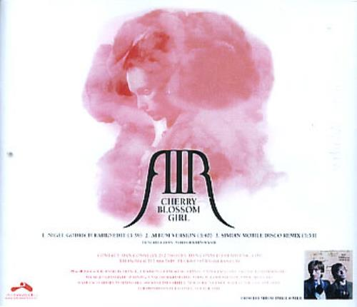 Air (French) Cherry Blossom Girl 2004 USA CD-R acetate CD-R ACETATE