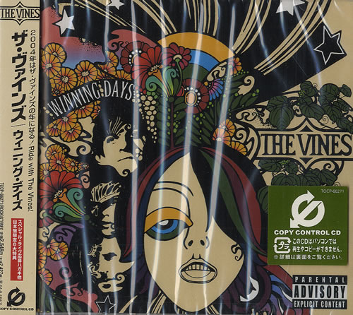 Image of The Vines Winning Days - Factory Sealed 2004 Japanese CD album TOCP-66271