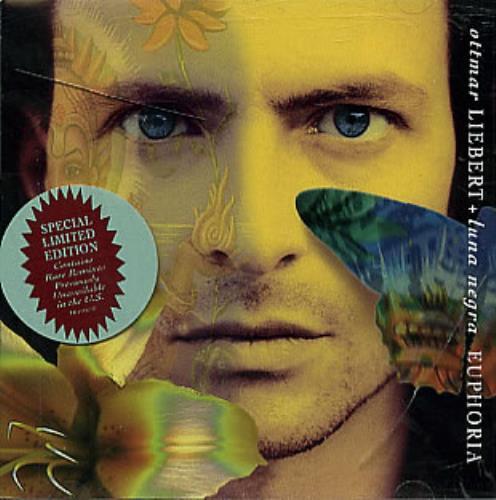 Ottmar Liebert Euphoria 1995 USA CD single EK66862