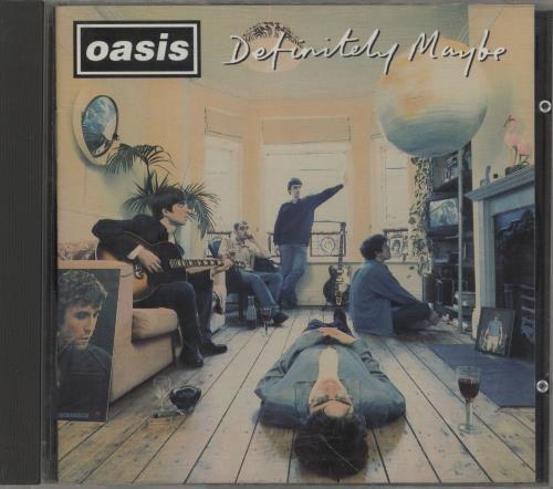 Oasis Definitely Maybe 1994 UK CD album CRECD169