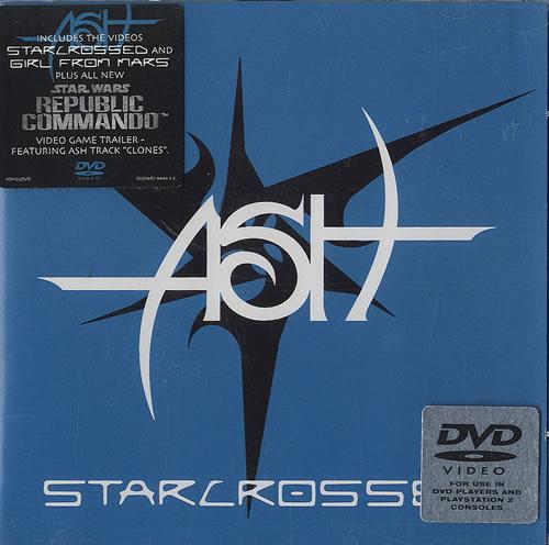 Image of Ash Starcrossed 2004 UK CD/DVD single set ASH02CD/DVD