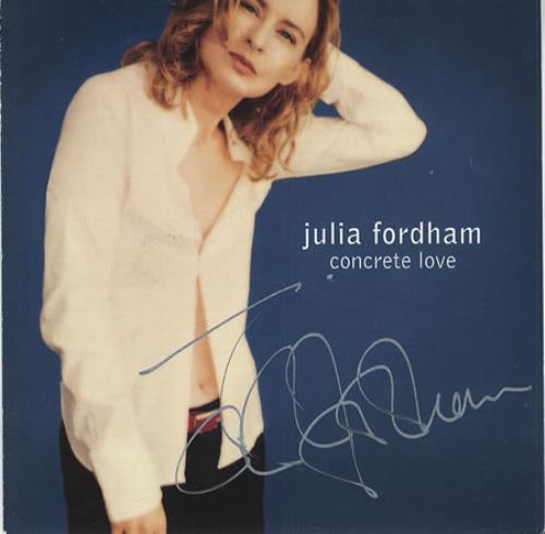 Fordham, Julia - Concrete Love - Autographed