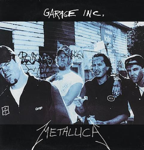 Metallica Garage Inc  180gram 2001 UK 3LP vinyl set 5383511