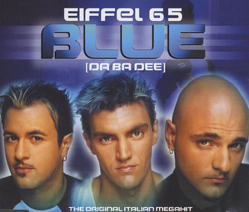 Eiffel 65 Blue (Da Ba Dee) 1998 UK CD single WEA226CD1