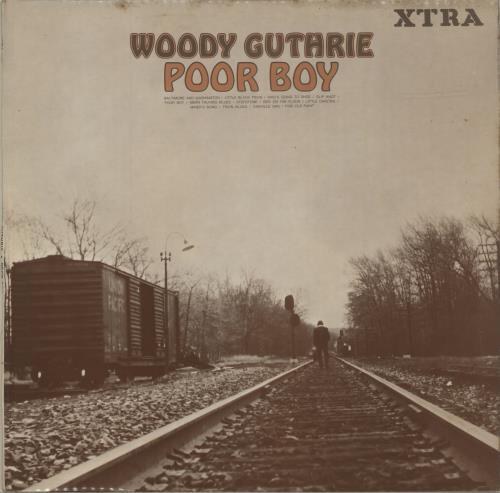 Woody Guthrie Poor Boy 1968 UK vinyl LP XTRA1065