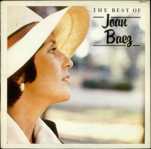 Joan Baez The Best Of Joan Baez UK vinyl LP SHM3173
