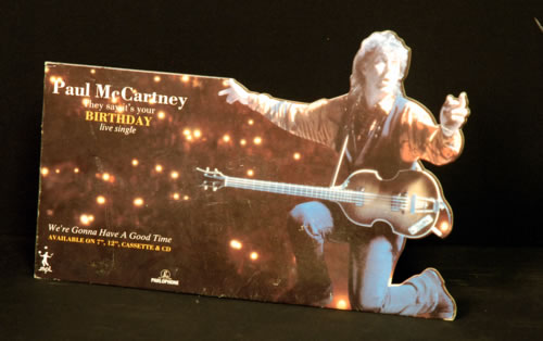McCartney, Paul - Birthday Instore Display