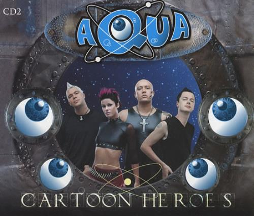 Aqua Cartoon Heroes 2000 UK CD single MCSXD40226