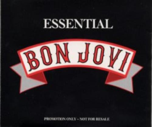 Bon Jovi Essential Bon Jovi 1988 UK CD album JOVI1989