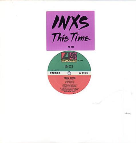 Inxs - This Time Vinyl