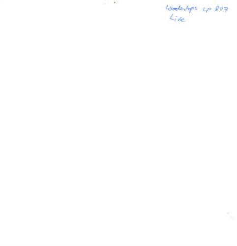 The Woodentops Live Hypnobeat Live 1986 UK vinyl LP R117