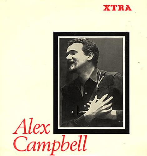 Alex Campbell Alex Campbell 1965 UK vinyl LP XTRA1014