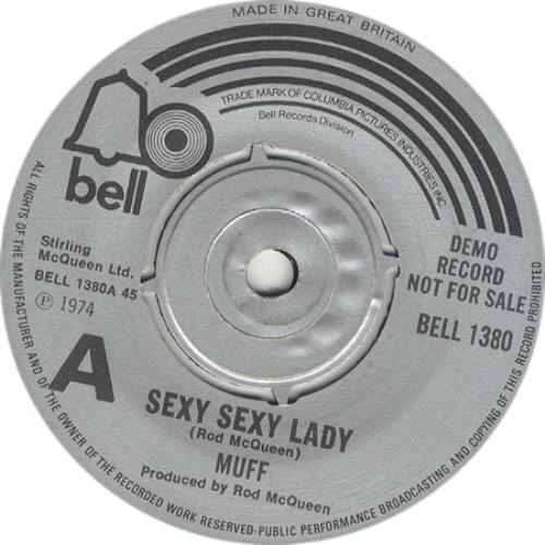 Muff Sexy Sexy Lady 1974 UK 7 vinyl BELL1380