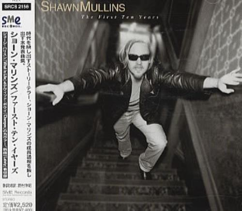 Shawn Mullins The First Ten Years 1999 Japanese CD album SRCS2156