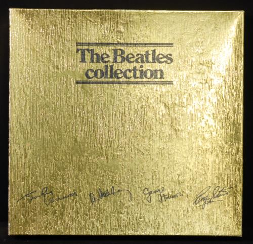 The Beatles The Beatles Collection  Gold Foil Box Australian vinyl box set BC13