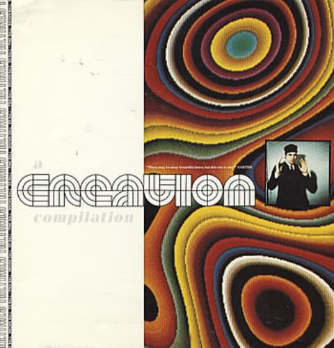 Creation Records A Creation Compilation - Proof Sleeve 1991 UK vinyl LP CRELP073