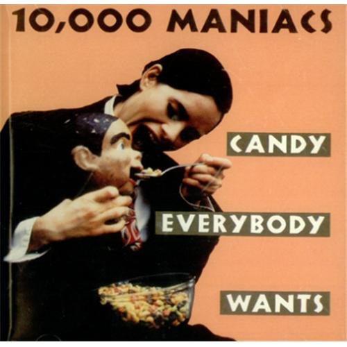 Image of 10,000 Maniacs Candy Everybody Wants 1992 USA CD single PRCD8702-2