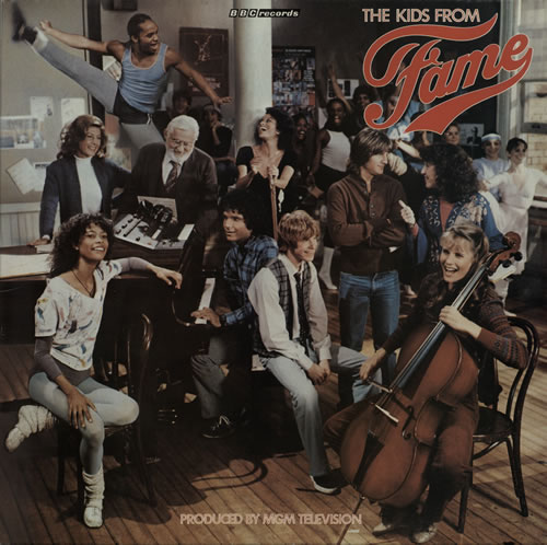 The Kids From Fame The Kids From Fame 1982 UK vinyl LP REP447