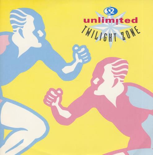 2 Unlimited Twilight Zone 1992 UK 12 vinyl PWLT211
