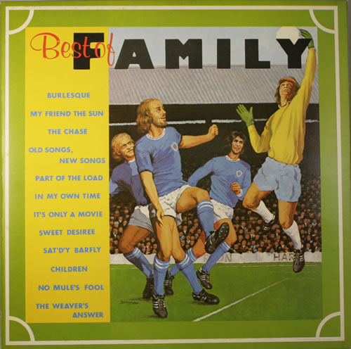 Family Best Of Family  Inner 1974 UK vinyl LP K54023