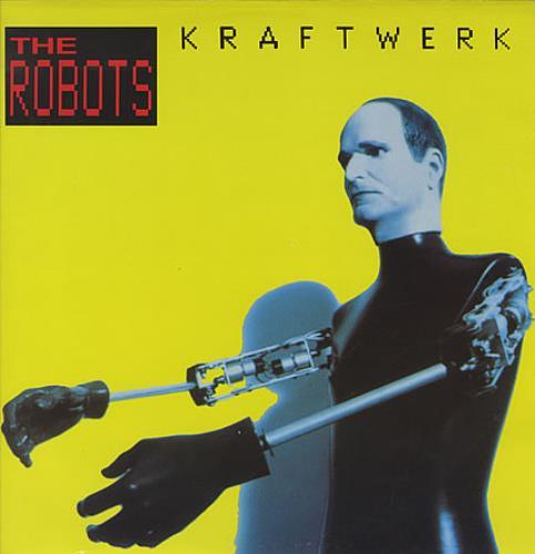 Kraftwerk - The Robots - Red Text