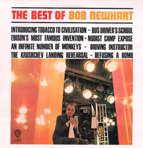 Bob Newhart The Best Of Bob Newhart  Burbank Label UK vinyl LP K46001
