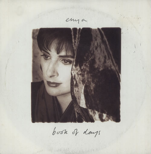 Enya Book Of Days 1992 UK 7 vinyl YZ640