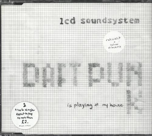 Image of LCD Soundsystem Daft Punk Is Playing At My House 2005 UK CD single DFAEMI2143CD
