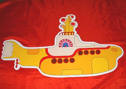 The Beatles Yellow Submarine  Hanging Mobile 1999 UK memorabilia PROMOTIONAL MOBILE