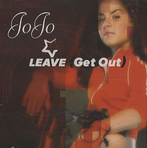 JoJo Leave (Get Out) 2004 USA CD single UNIR211652