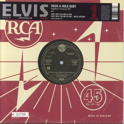 Presley, Elvis - Rock-a-hula Baby [numbered]