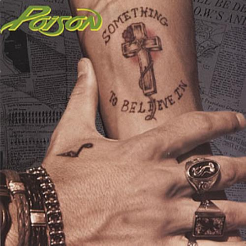 Poison - Something To Believe In LP