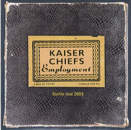 Kaiser Chiefs Employment 2005 French CDR acetate CDR ACETATE
