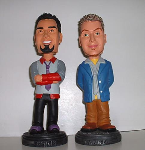 Chris And Lance Bobblehead Figures