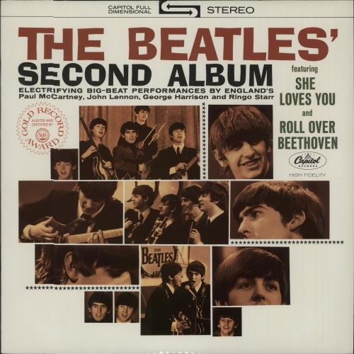 The Beatles The Beatles Second Album  Purple Label USA vinyl LP ST2080