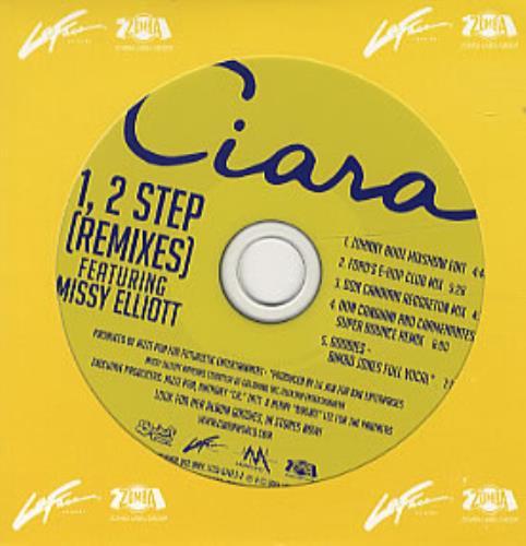 Ciara 1, 2 Step - Remixes 2004 USA CD single LFCD-67423-2