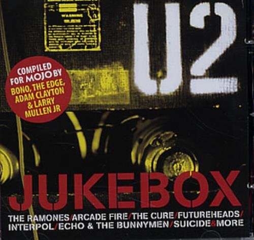 U2 U2 Jukebox 2005 UK CD album MOJOU2JUNE