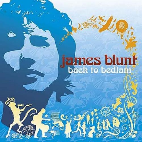 James Blunt Back To Bedlam 2005 UK CD album 7567934512
