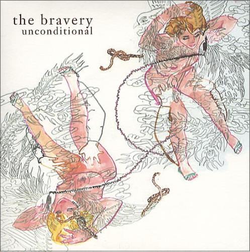 The Bravery Unconditional  White Vinyl 2005 UK 7 vinyl 9884838