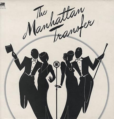 Image of The Manhattan Transfer The Manhattan Transfer 1975 UK vinyl LP K50138