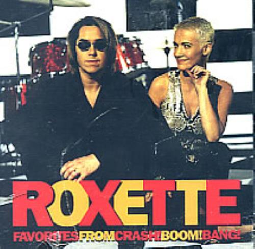 Roxette Favorites From Crash Boom Bang 1994 USA CD album S217956