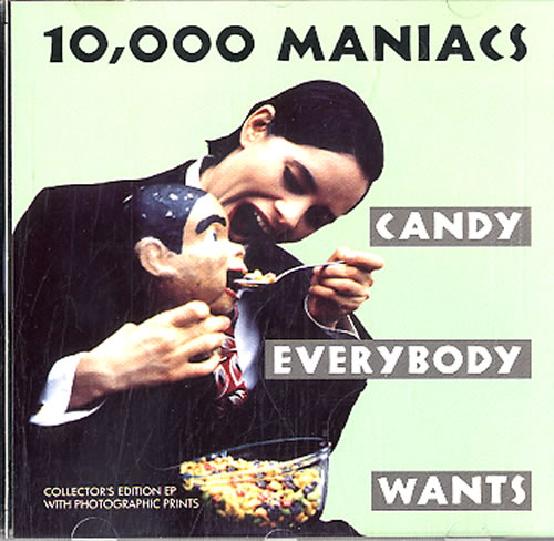 Image of 10,000 Maniacs Candy Everybody Wants 1993 German 2-CD single set EKR160CD1/X