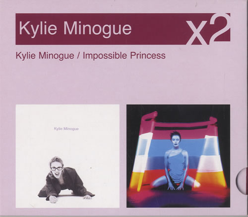 Kylie Minogue Kylie Minogue  Impossible Princess 2005 UK 2CD album set 88697154382